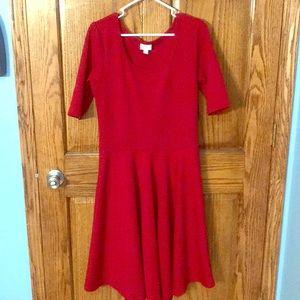 LulaRoe Red Dress
